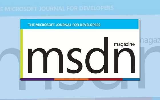 A novembre l'addio al magazine MSDN di Microsoft