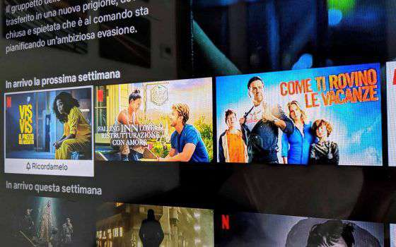 Netflix mette in evidenza le prossime uscite