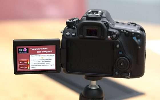 Reflex e ransomware: un riscatto per le foto