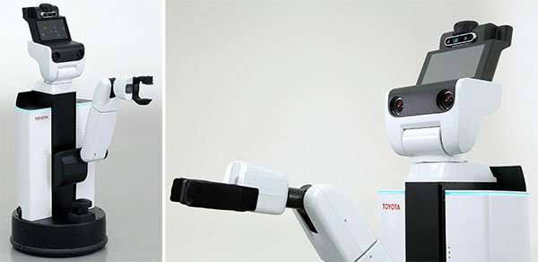 Human Support Robot, l'automa di Toyota e Preferred Networks