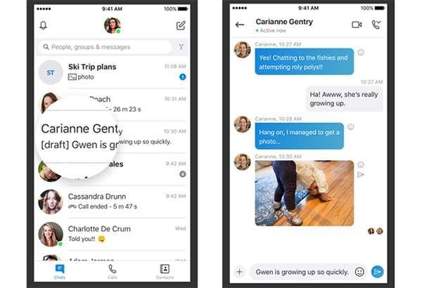 Skype: nuove funzionalità per le chat