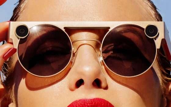 Gli occhiali Spectacles 3 con doppia fotocamera