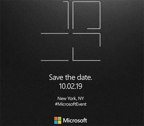 L'evento Surface di Microsoft fissato a New York City per il 2 ottobre