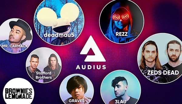 Alcuni degli artisti presenti sulla piattaforma Audius per lo streaming musicale