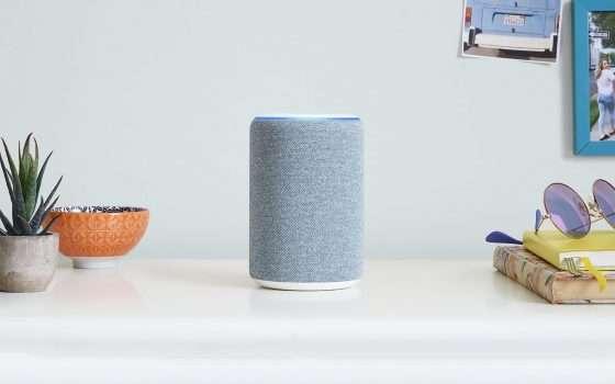 Nuovo Amazon Echo: Alexa si veste di tessuto