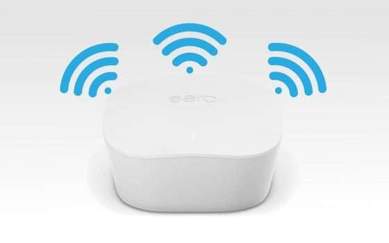 Amazon porta il Wi-Fi mesh di eero in Italia