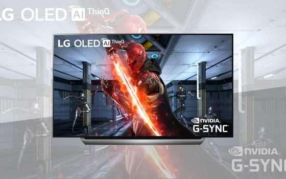 NVIDIA G-SYNC arriva sui televisori LG OLED 2019