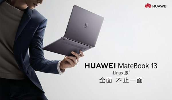 Huawei MateBook 13 con Linux