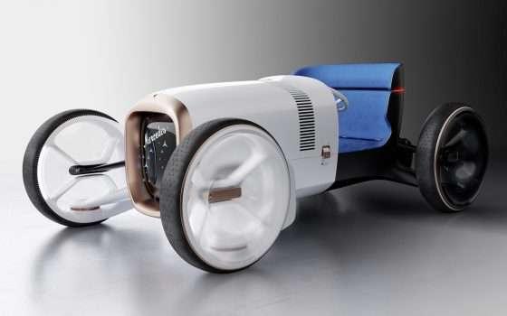 Vision Mercedes Simplex, il passato è elettrico
