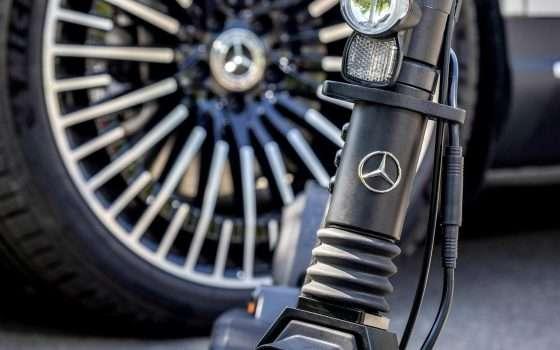 Anche Mercedes-Benz avrà il suo scooter elettrico