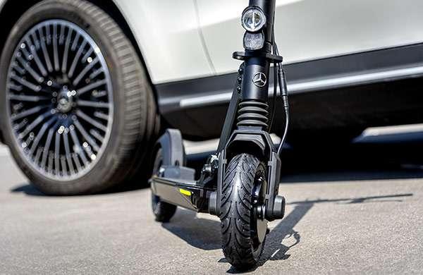 Lo scooter elettrico di Mercedes-Benz