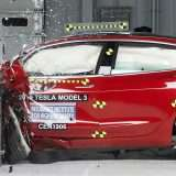 Tesla Model 3 promossa nel crash test di IIHS