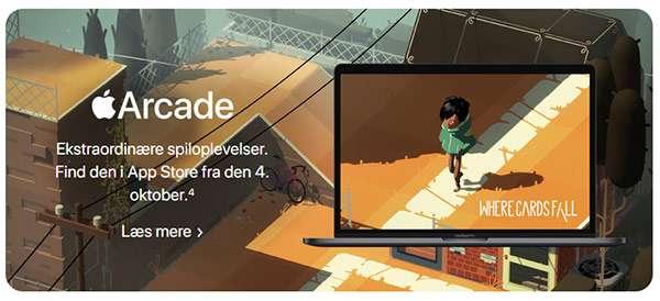 Il sito danese di Apple svela la data di lancio di macOS 10.15 Catalina