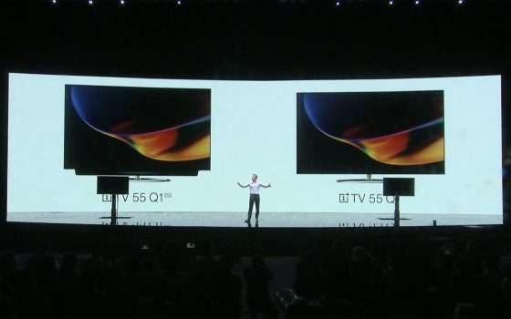 OnePlus TV è ufficiale nei modelli Q1 e Q1 Pro