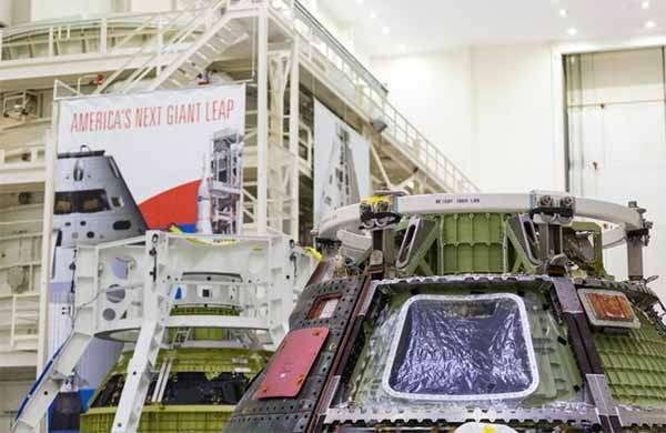 Il modulo Orion di Lockheed Martin