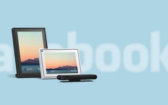 I nuovi Facebook Portal con Alexa anche in Italia