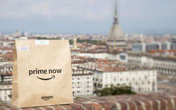 Amazon Prime Now, consegne rapide anche a Torino