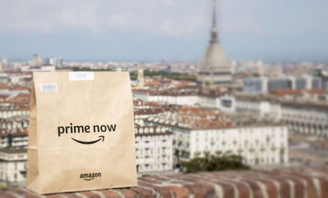 Amazon Prime Now a Torino