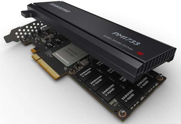Samsung SSD, serie PM1733 e PM1735