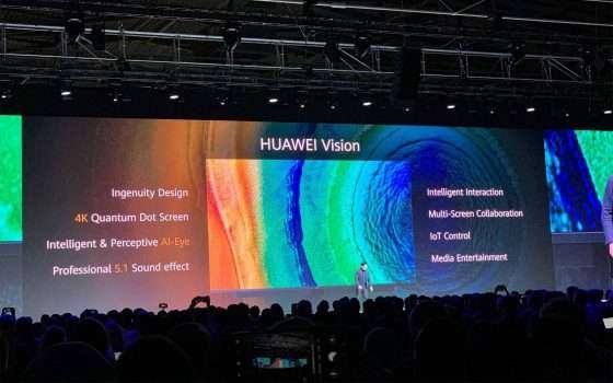 Huawei Vision, la TV 4K con IA e HarmonyOS