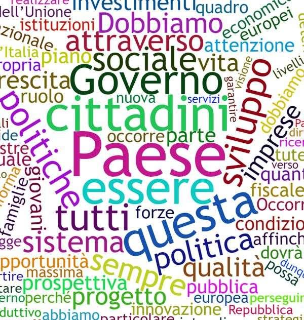 Le parole più usate da Giuseppe Conte nel suo discorso per la fiducia