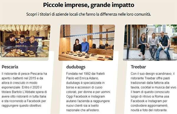 Boost with Facebook: alcune delle aziende italiane che utilizzano il social network per promuovere la propria attività