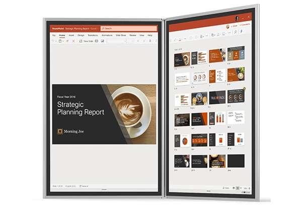Il dual screen Microsoft Surface Neo con Windows 10X