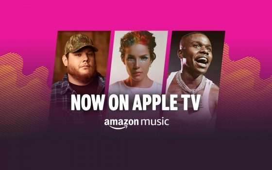 Lo streaming di Amazon Music su Apple TV