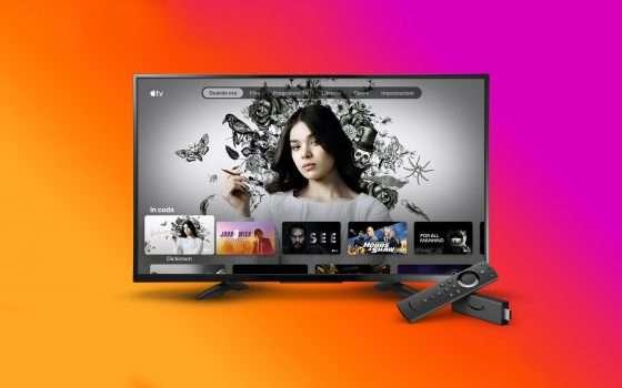 L'applicazione Apple TV arriva su Amazon Fire TV