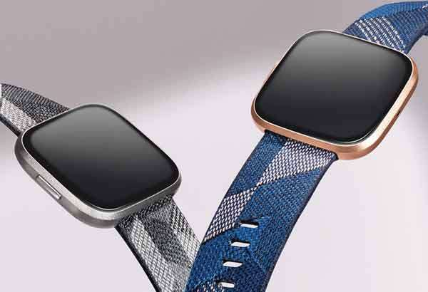 Lo smartwatch Fitbit Versa