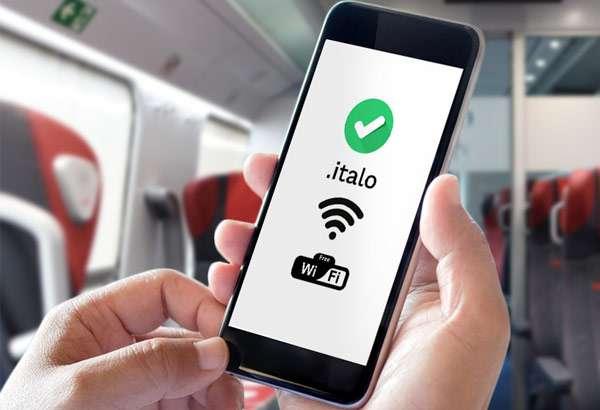 L'accesso al WiFi sui treni di Italo