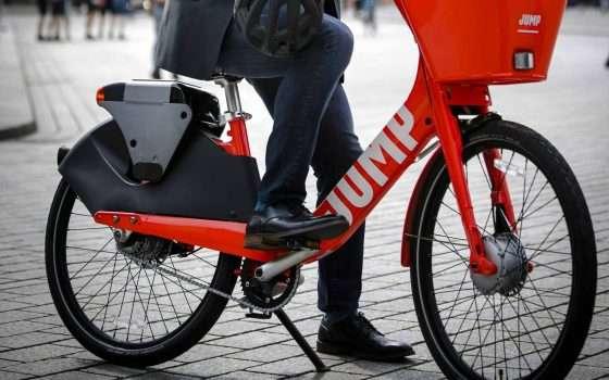 Uber porta le bici elettriche di JUMP a Roma