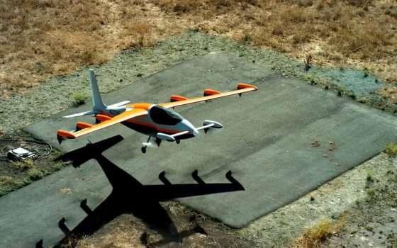 Heaviside è il velivolo elettrico di Kitty Hawk