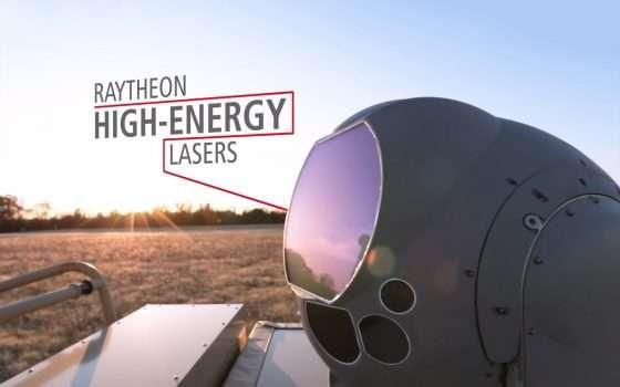 Il laser di Raytheon che abbatte i droni