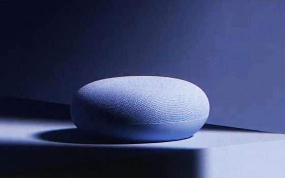 Nest Mini è il nuovo smart speaker di Google