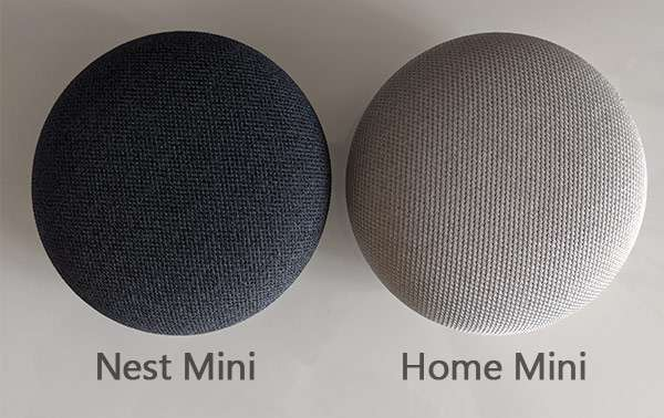 Nest Mini e Home Mini a confronto