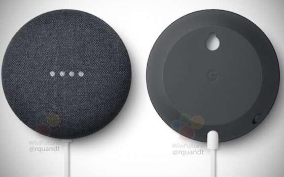 Leak: ecco il nuovo speaker Nest Mini di Google