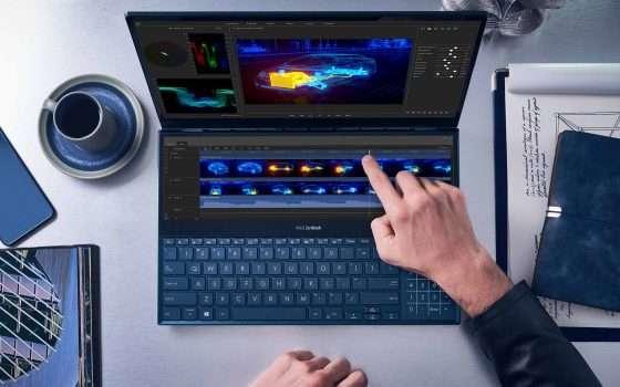 ASUS ZenBook Duo e Pro Duo arrivano in Italia