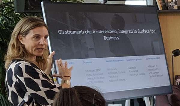 L'evento per il lancio dei nuovi Microsoft Surface in Italia