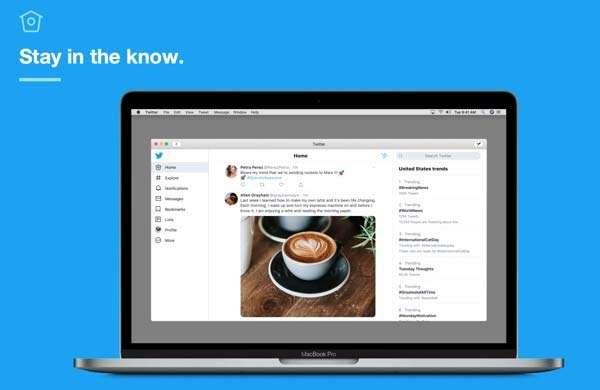 Twitter su Mac App Store