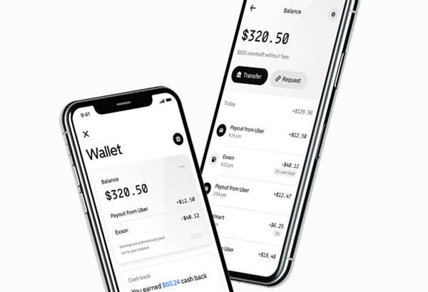 Uber Money, l'applicazione mobile
