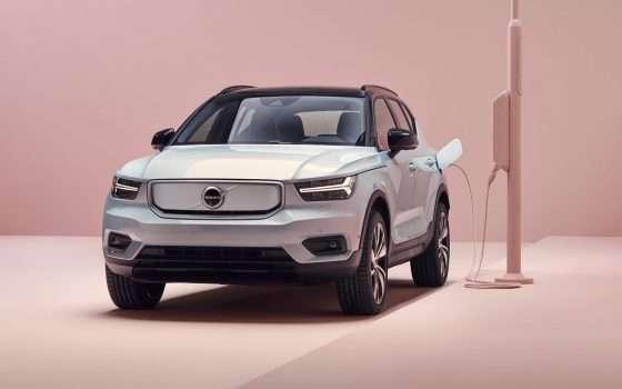 XC40 Recharge è la prima auto elettrica di Volvo