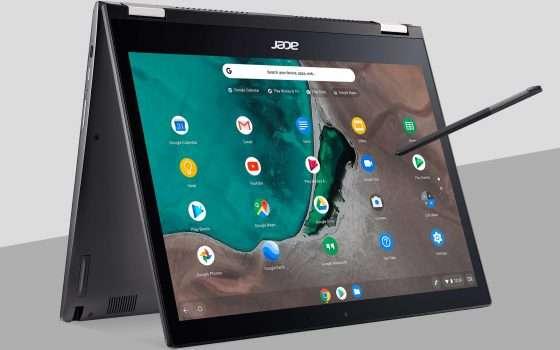 Acer Chrome Enterprise: arrivano 6 nuovi prodotti
