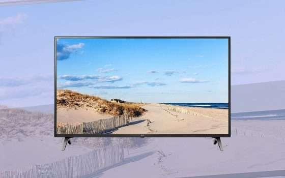 TV 4K 65 pollici LG in offerta su Amazon a € 540