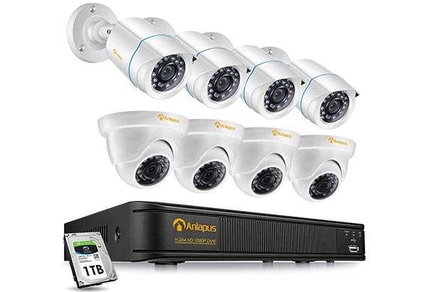 Il kit Anlapus per la videosorveglianza della casa