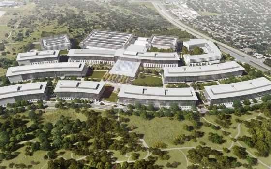Il nuovo campus di Apple ad Austin, in Texas