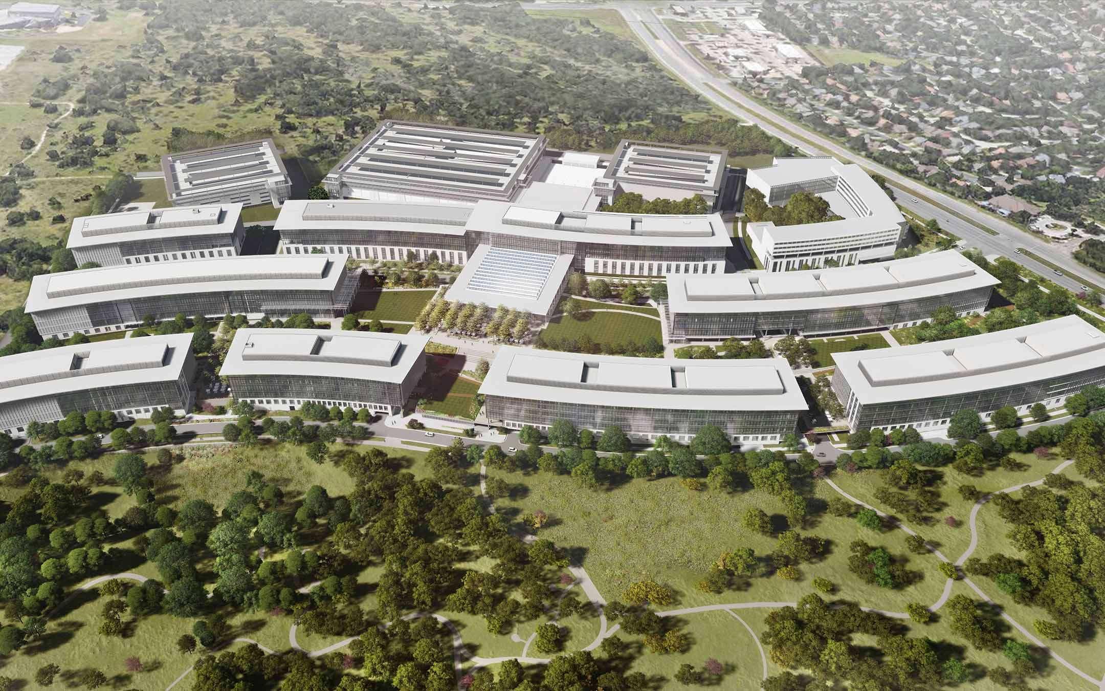 Apple campus, Texas
