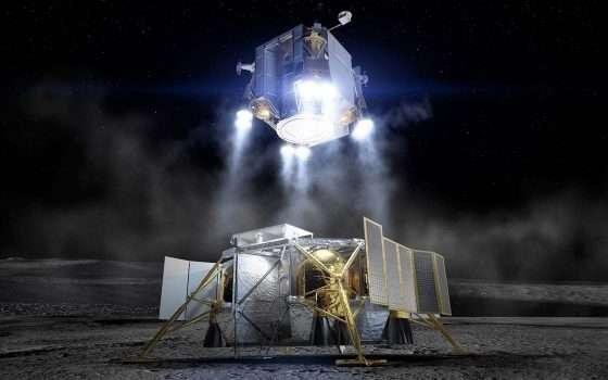 Il lander di Boeing per tornare sulla Luna