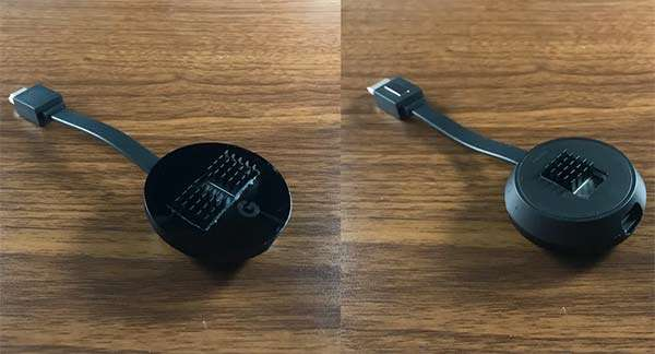 Chromecast Ultra con dissipatore fai-da-te per il calore prodotto con Stadia
