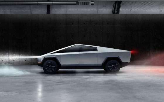 Tesla Cybertruck: il pickup elettrico di Blade Runner